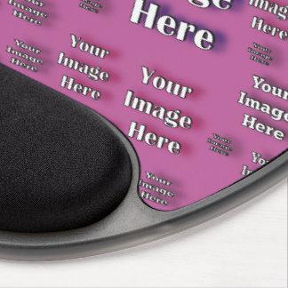 Digital Image Template Gel Mouse Pad