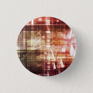 Digital Imagery with Data Network Transfer Art Button