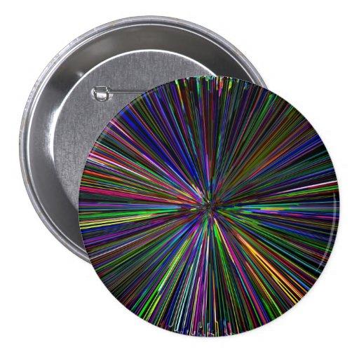 Digital Infinity abstract Pin