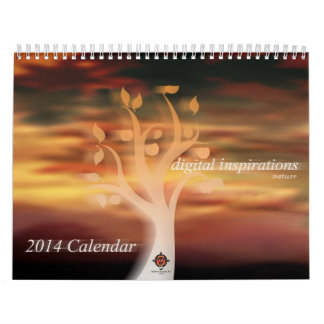 Digital Inspirations (Nature) 2014 Calendar