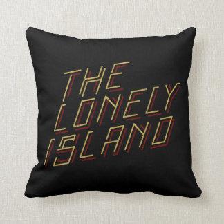 Digital Island Throw Pillow