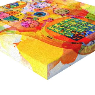 Digital Kabbalah Canvas Print