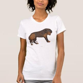 Digital Kaleidoscope Staring Wolf T Shirts