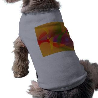 Digital Kandinsky Emulation Pet Tshirt