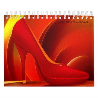 Digital Kunst-2 Calendar