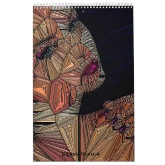 Digital Kunst-4 Calendar