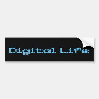 Digital Life parody bumper sticker
