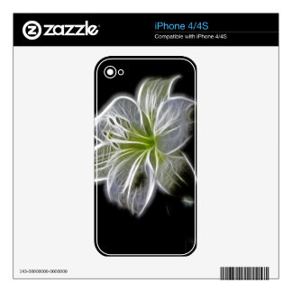 Digital Lilly iPhone 4 Decals