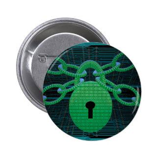 Digital lock button