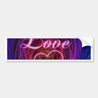 digital love bumper stickers
