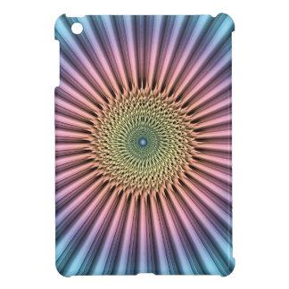 Digital Mandala Flower iPad Mini Cover