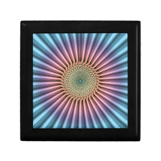 Digital Mandala Flower Jewelry Box
