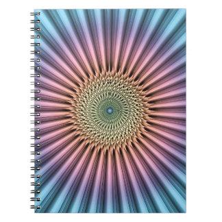 Digital Mandala Flower Notebook
