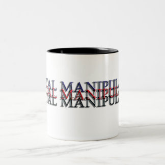 digital manipulator Two-Tone coffee mug
