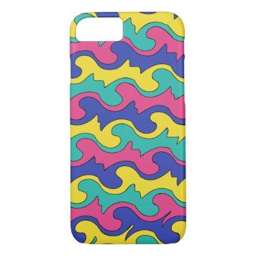 Digital Marble Camo Design Pattern iPhone 8/7 Case