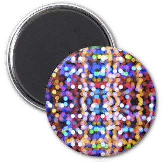 digital mareado del botek de las colorido-empañar- imán redondo 5 cm