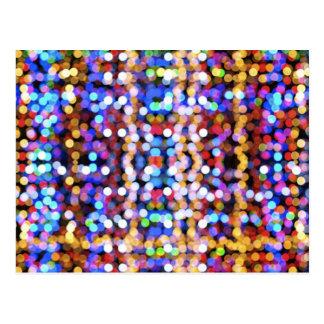 digital mareado del botek de las colorido-empañar- tarjeta postal