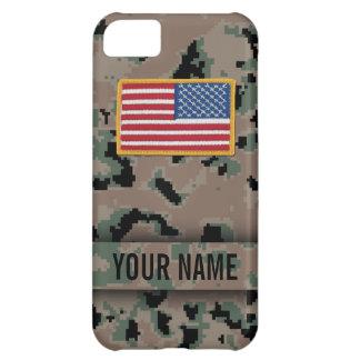 Digital Marine Style Camouflage iPhone Case iPhone 5C Case