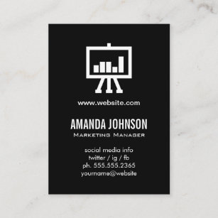 Digital marketing business cards templates zazzle digital marketing black business card colourmoves