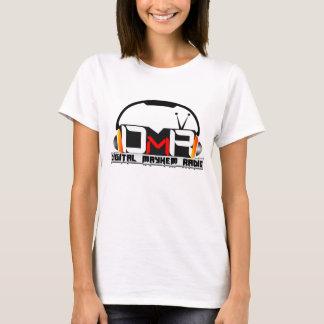 Digital Mayhem Radio Logo Ladies T-Shirt