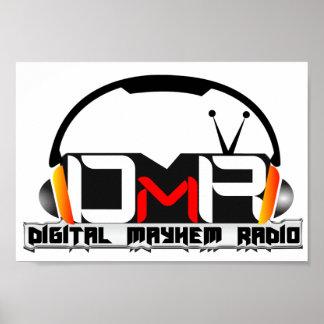 Digital Mayhem Radio Poster