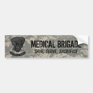 digital, Medical rangers with skul... - Customized Bumper Sticker
