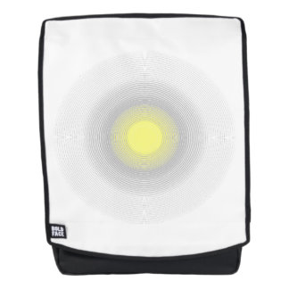 Digital Minimalist Sunshine. Backpack