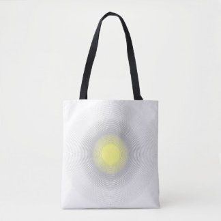 Digital Minimalist Sunshine. Tote Bag