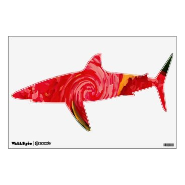 Art Themed Digital Mix of Happy Colors Wall Decal