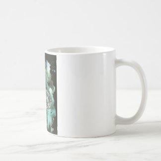 digital monarch butterfly painting coffee mug