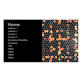 Digital Mosaics Business Card Template