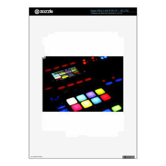 Digital Music Dj Technology Sequencer Samples Skin For iPad 3