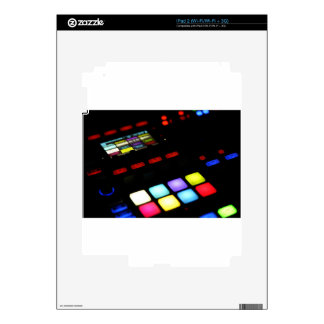 Digital Music Dj Technology Sequencer Samples Skin For The iPad 2