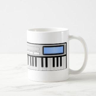 Digital Music Synthesizer Mug