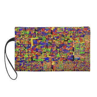 Digital noise Wristlet