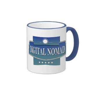 Digital Nomad Ringer Coffee Mug