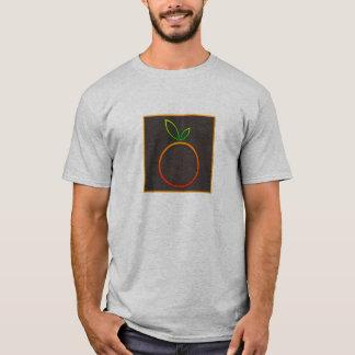 Digital Orange Apple Icon T-Shirt