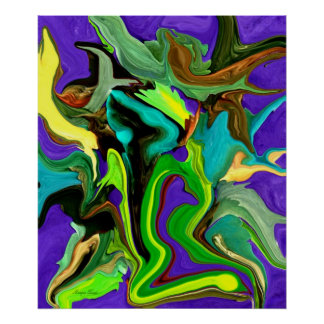 Digital Painting-Abstract Art Poster