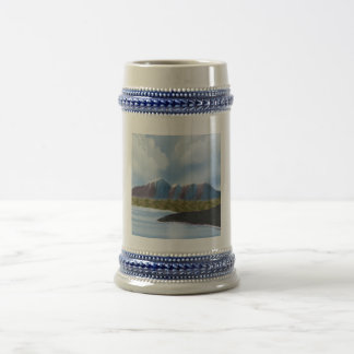 Digital Painting_Mountains and River Mug