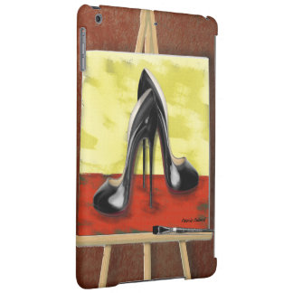 Digital Painting of a Painting of Black Stiletto's Case For iPad Air