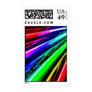 Digital Painting Postage Stamp