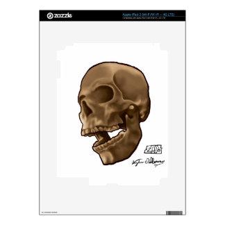 Digital Painting - Skull iPad 3 Skins