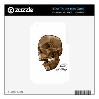 Digital Painting - Skull Skin For iPod Touch 4G