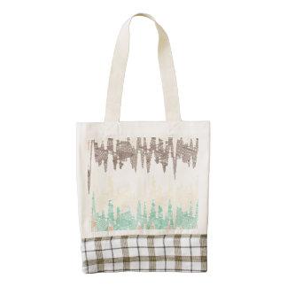 Digital painting zazzle HEART tote bag