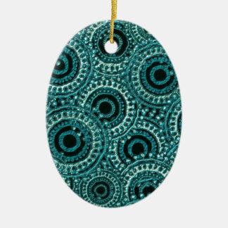 Digital Paper Effect Christmas Ornaments
