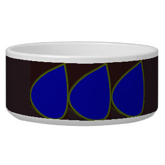 Digital Petals Modern Design Stylish Pet Bowl