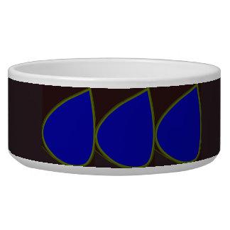 Digital Petals Modern Design Stylish Pet Bowl