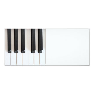Digital piano keyboard card