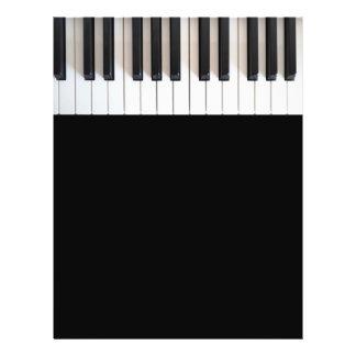 Digital piano keyboard flyer