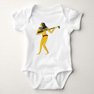 Digital pintada; Ropa egipcia temprana Camisas